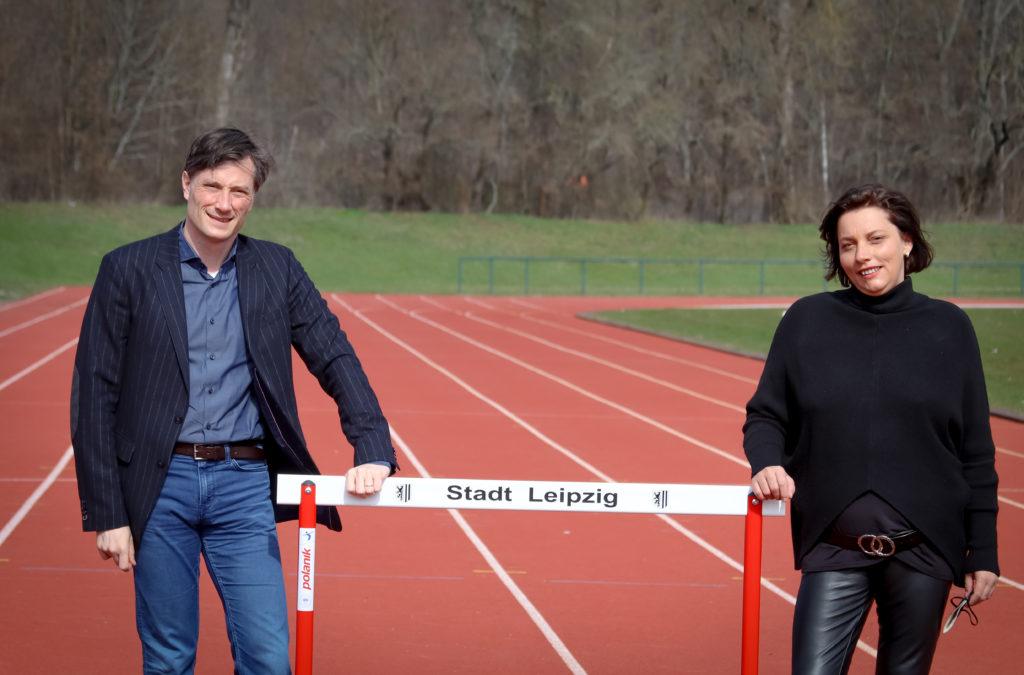 Heiko Rosenthal und Katharina Baum